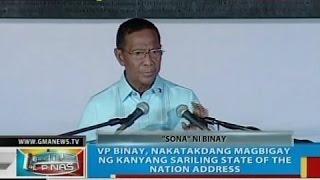 VP Binay SONA 2014 (Full)