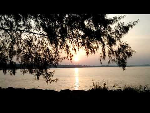 Sunrise at Waterfront Port Dickson