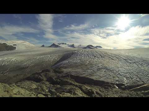 Phonography : Harding Ice Field, Kenai Peninsula, Alaska (60.175446, -149.708833)
