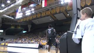 John Brown dunk vs. Appalachian State
