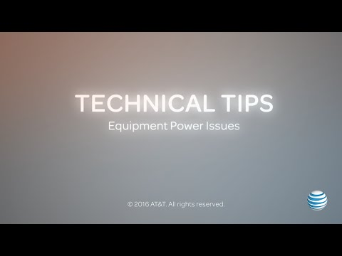 Technical Tips: Customer Premises Equipment Power Issues On A Single Device