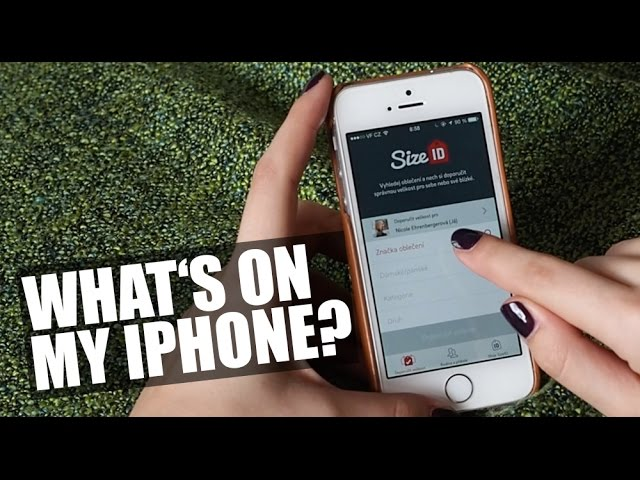 What's on my iphone? | Nicole