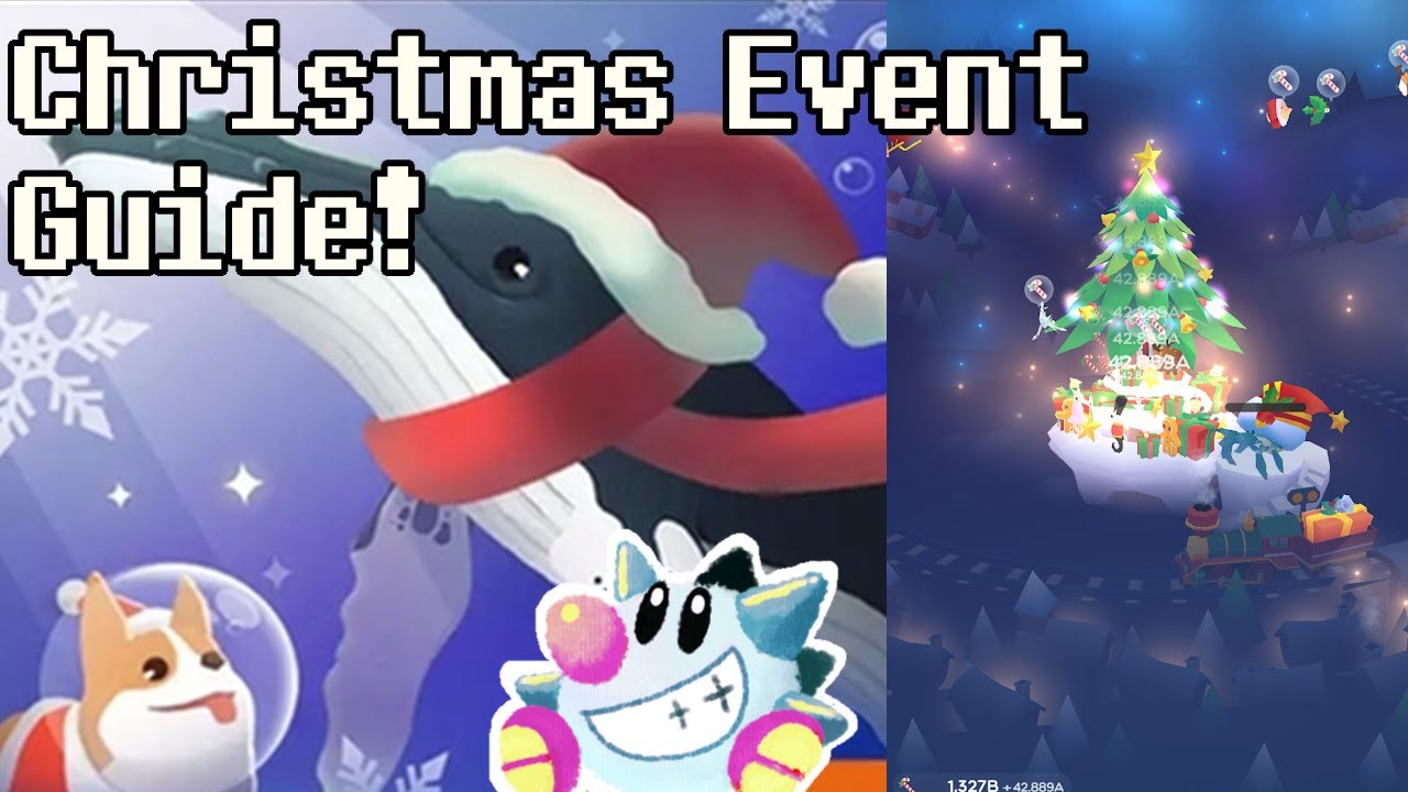 Tap Tap Fish 2020 Christmas Event Hidden Fish Tap Tap Fish AbyssRium | Christmas Event 2019 All Hidden Fish