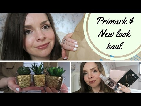 PRIMARK & NEW LOOK HAUL & TRY ON - INC HOME, BEAUTY & CHILD