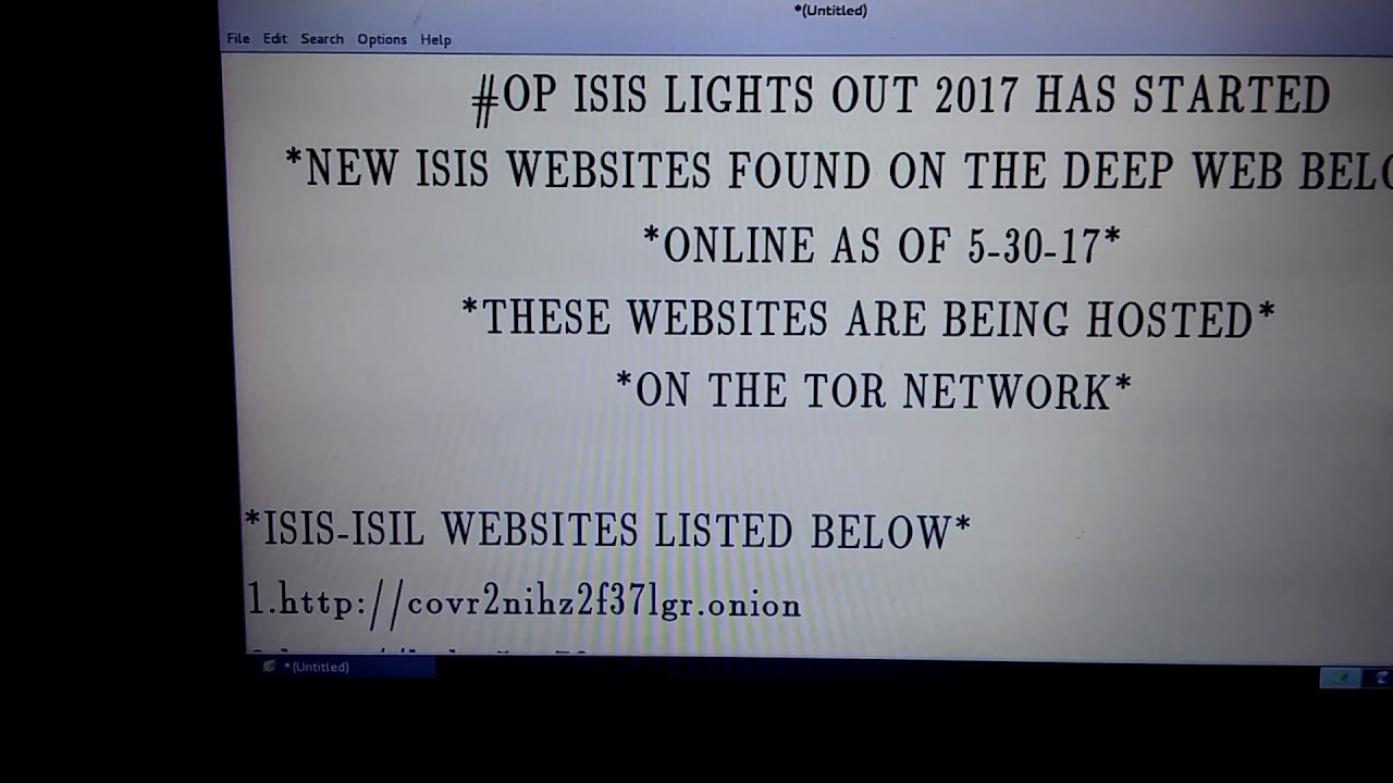 NSA: Please Watch This Video ISIS On The Deep Web