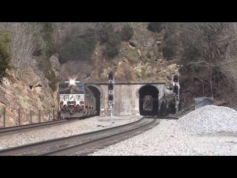 Norfolk Southern railfanning extravaganza Roanoke VA 2017