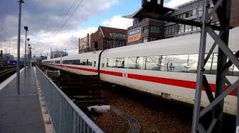 ICE 546 / 556 Ausfahrt aus Berlin Ostbahnhof