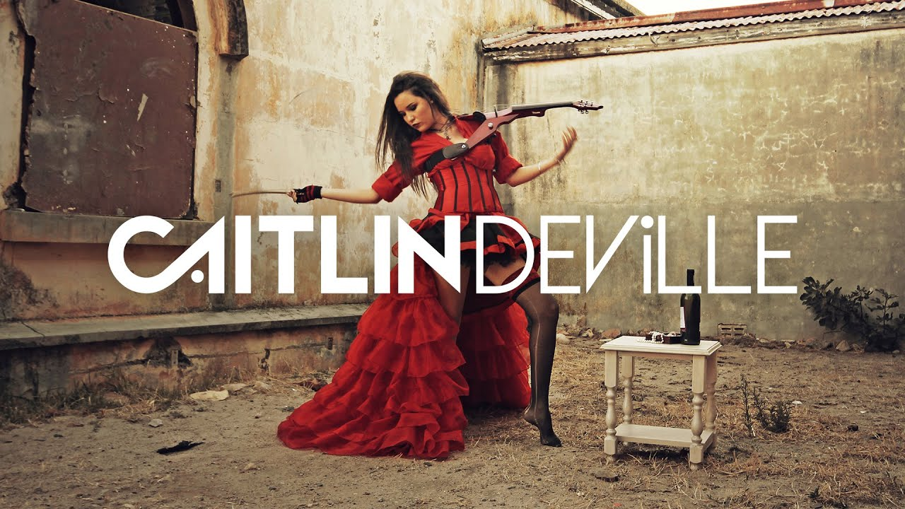 My Dark Valentine - Rock & Metal Violin Covers Medley | Caitlin De Ville