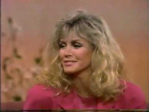 Donna Mills on Joan River's daytime talk show, 1989