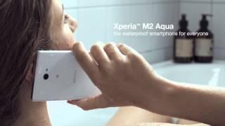Sony Xperia™ M2 Aqua: an affordable, waterproof smartphone