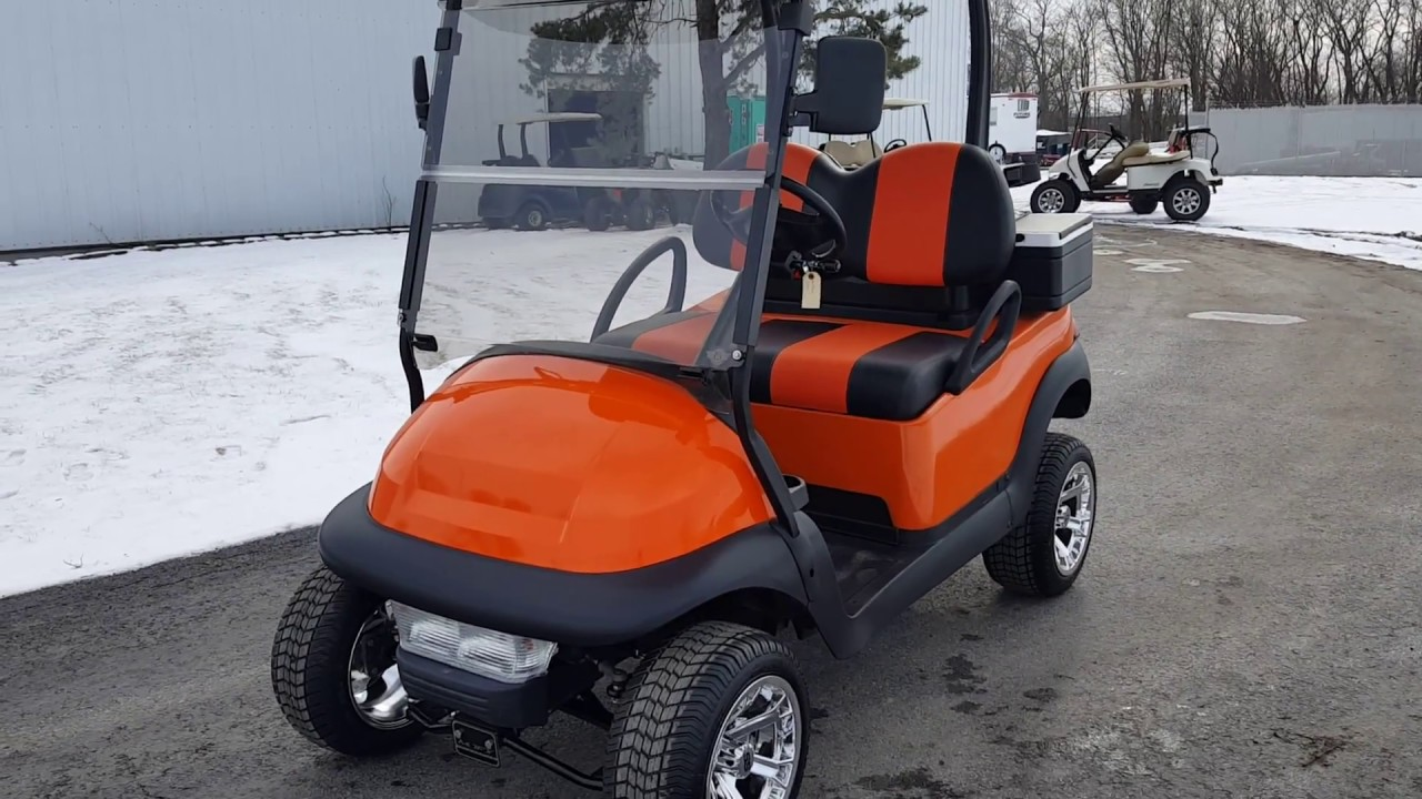 gas golf cart club car precedent with lift kit custom. Black Bedroom Furniture Sets. Home Design Ideas