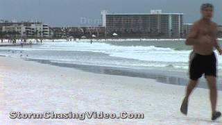 10/17/2011 Siesta Key Beach, Fl Pre Tropical Storm Rina