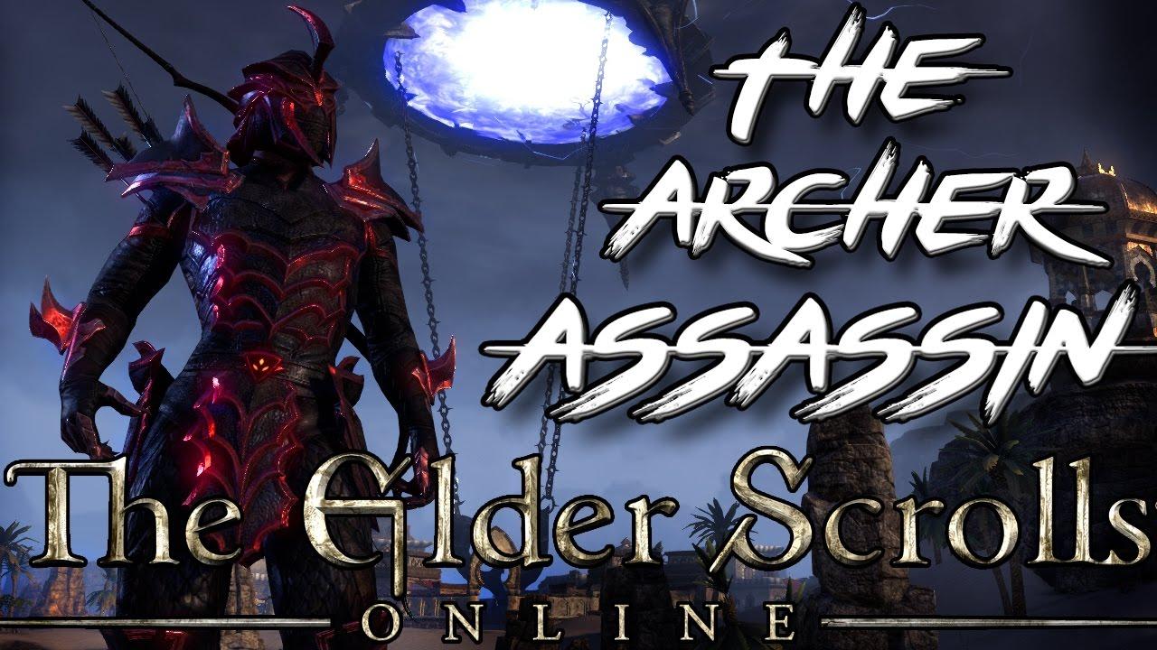 THE ARCHER ASSASSIN - Stamina Nightblade PvE Build in ESO (Elder Scrolls  Online StamBlade PvE Build)