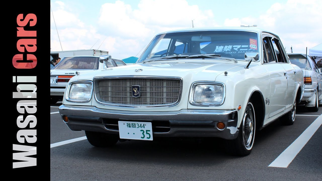 Old School Cool: 1978 Toyota Century (VG35) - http ...