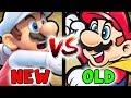 Old Super Mario Bros VS New Super Mario Bros