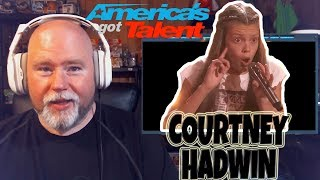 Pharaoh Reacts: AGT Courtney Hadwin Born To Be Wild!! This Girl is ON FIRE!!