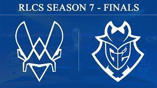 Vitality vs G2 | RLCS Season 7 - Finals (23rd June 2019)