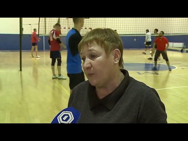 Чествование победителей первенства Европы по волейболу