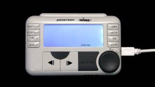 Updating The Firmware on a Peterson BodyBeat Sync | Peterson Strobe Tuners
