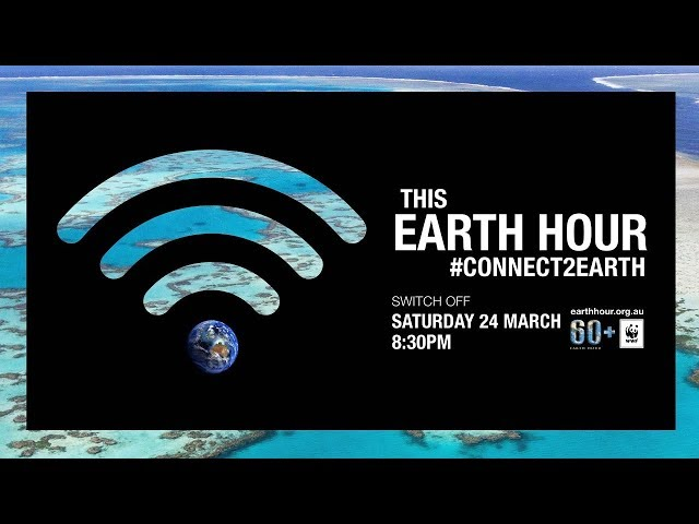 #Connect2Earth This Earth Hour