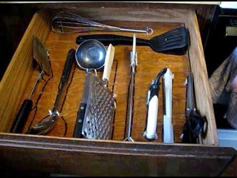 how to organize kitchen cabinets and drawers for efficient meal