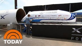 Elon Musk's SpaceX Hyperloop Competition Draws World's Top Engineers   TODAY