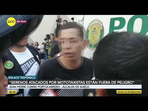 Así fue el ataque de mototaxistas informales a fiscalizadores de la Municipalidad de Surco [VIDEO]