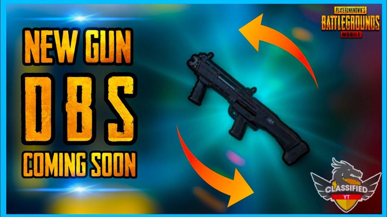 NEW AIRDROP GUN COMING IN PUBG MOBILE UPDATE
