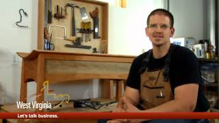 Matt Thomas, Wood Crafter And Metal Artist, West Virginia