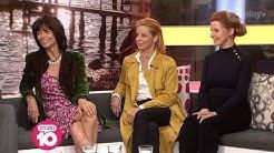 Stars Of Aussie Film 'Palm Beach' Rachel Ward, Heather Mitchell & Jacqueline McKenzie | Studio 10