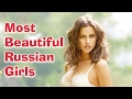 Top 10 Most beautiful Russian girls 2017 | Top 10 Everything