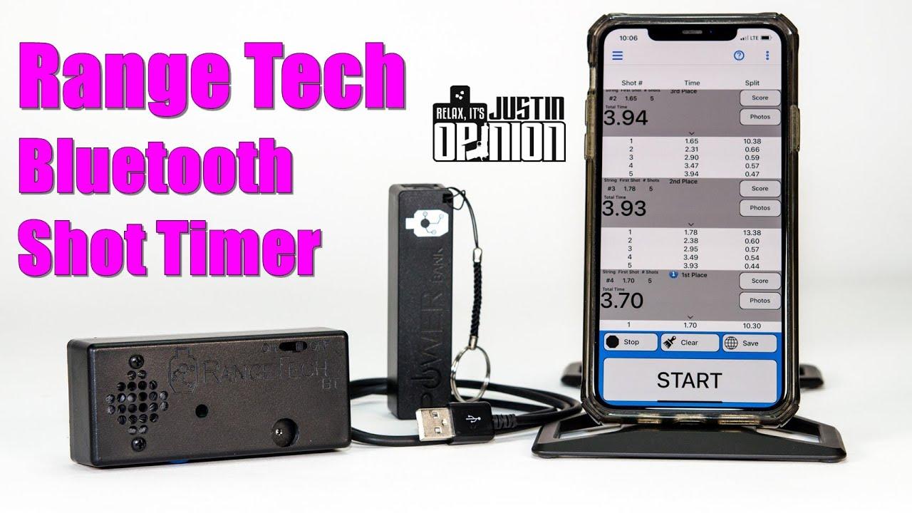 Range Tech Pro - Bluetooth Shot Timer