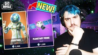 *NEW* EPIC FORTNITE LEVIATHAN SKIN IN FORTNITE BATTLE ROYALE