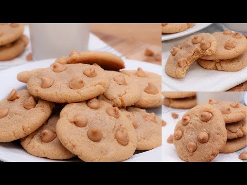 Soft & Chewy Peanut Butter Chip Cookies