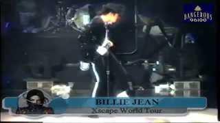 Michael Jackson  -  Billie Jean  -  Xscape World Tour   (Reupload)