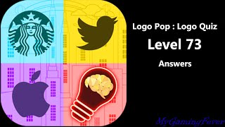 Download lagu Logo Pop : Logo Quiz - Level 73 Answers