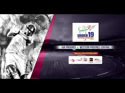 U19 Provincial Tournament 2018 – Uva Province vs Western Province Central