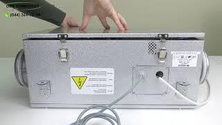 видео Приточно-вытяжные установки с рекуперацией тепла серии ВЕНТС ВУЭ П3Б EC