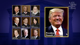 Listen As Trump Crashes The Supreme Court's Oral Arguments Teleconference