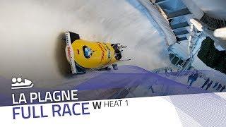 La Plagne | BMW IBSF World Cup 2019/2020 - Women's Bobsleigh Heat 1 | IBSF Official