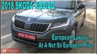 2018 Skoda Kodiaq   European SUV at a not so European Price   MusclesNCars