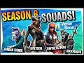 Hysteria | Fortnite - Season 6 Squads with NICKMERCS TimtheTatman and Jordan Fisher