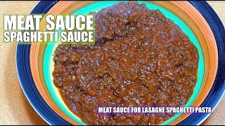 Meat Sauce - Meat Sauce for Pasta - Lasagna Meat Sauce - Spaghetti Meat Sauce - Bolognese Sauce
