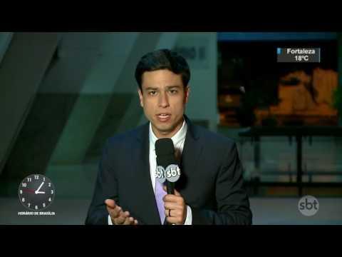 Temer se reúne com aliados às vésperas da votação de denúncia na Câmara - SBT Notícias (02/08/17)