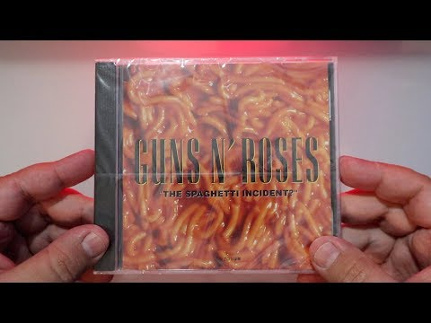 """Guns N´Roses   – """"The Spaghetti Incident?"""" / Unboxing"""