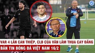VN Sports 16/2 | CLB HCM sắp mua Lee Nguyễn giá hơn 20 tỷ, lý do HLV Park không trở lại VN đúng lịch