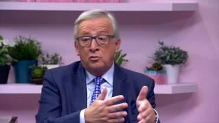 L 39 interview de Juncker que Youtube et l 39 UE ne voulaient pas version complète