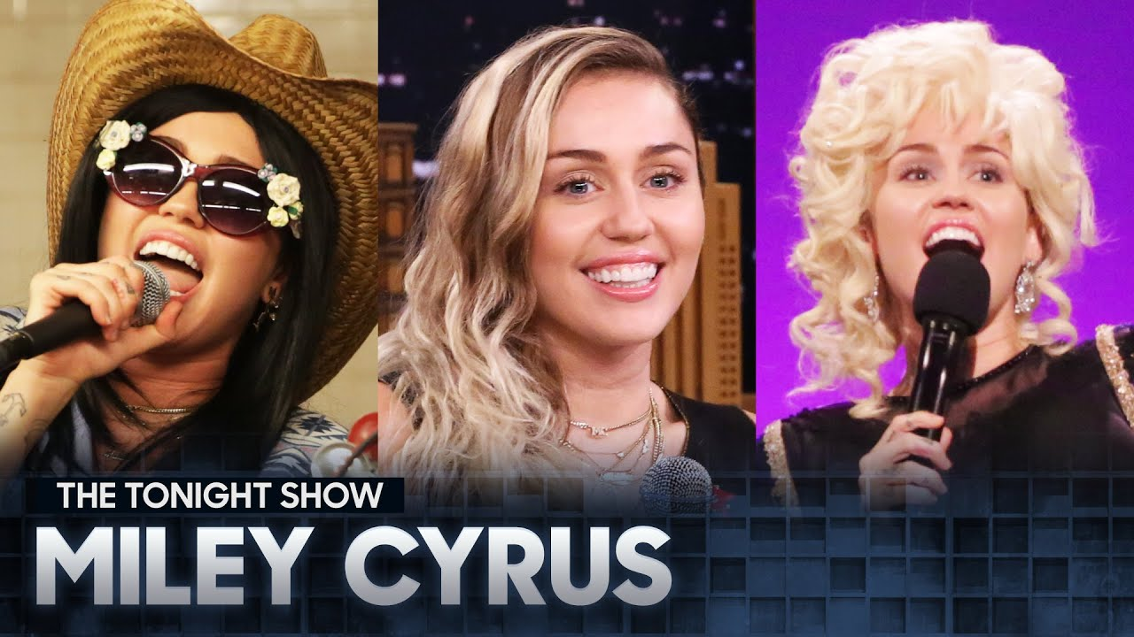 The Best of Miley Cyrus on The Tonight Show (Vol. 1)