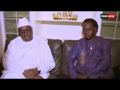 Podor: Visite du Présidente la République chez l'artiste Baaba Maal