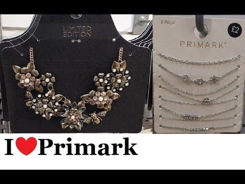Primark Jewellery October 2017 I